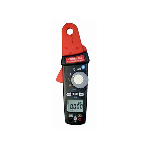 CENTER 260 TRMS AC/DC LOW CURRENT CLAMP METER