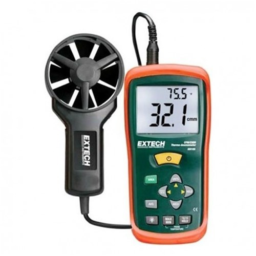 EXTECH AN100 MINI THERMO-ANEMOMETER CFM/CMM