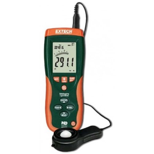 EXTECH HD450 LIGHT METER DATALOGGING