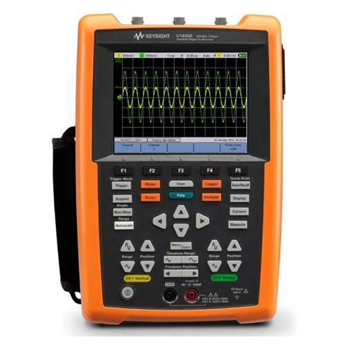 KEYSIGHT U1620A HANDHELD DIGITAL OSCILLOSCOPE 200 MHZ